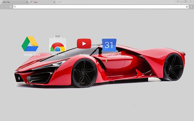 Ferrari Enzo Chrome Theme