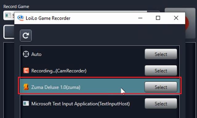 برنامج LoiLo Game Recorder