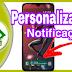 Personalização notificação whatsapp