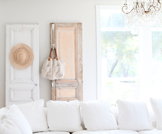 Antique French Doors And A New Favorite White Paint