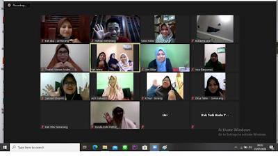 Kelas Cerita Anak bersama Kampung Dongeng Semarang