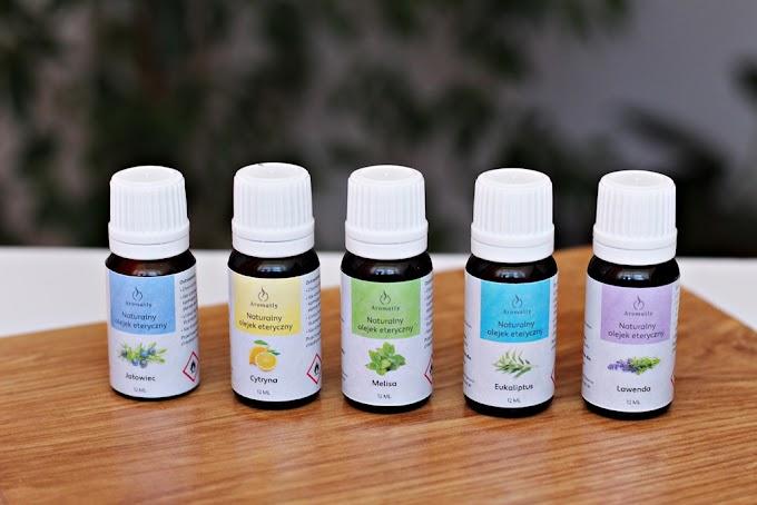 Naturalne olejki eteryczne idealne do aromatoterapii i nie tylko