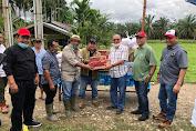 Respon Cepat, Direktur PTPN I Bantu Karyawan Dampak Banjir