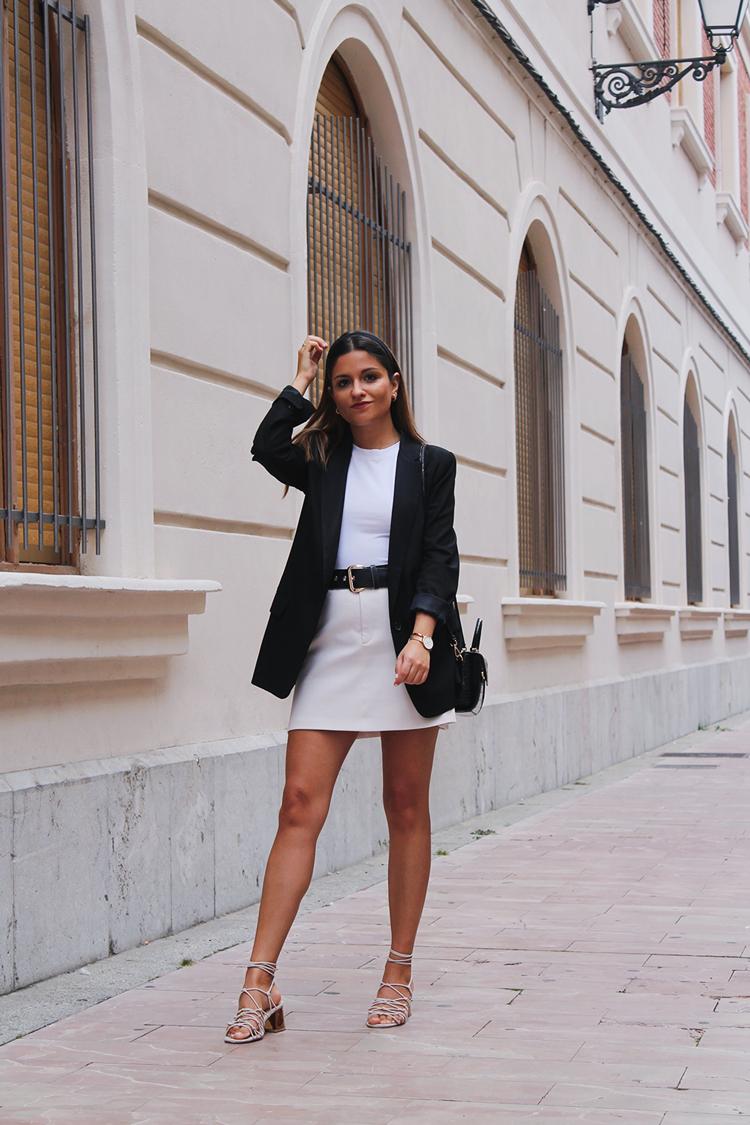outfit elegante con diadema otoño 2019