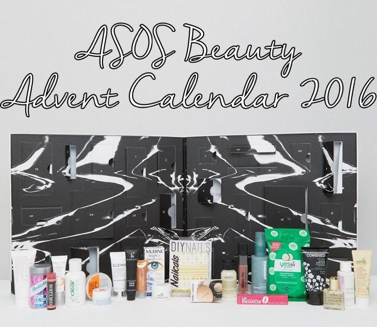 ASOS Beauty Advent Calendar 2016 ships worldwide and contains 24 makeup and skincare products.