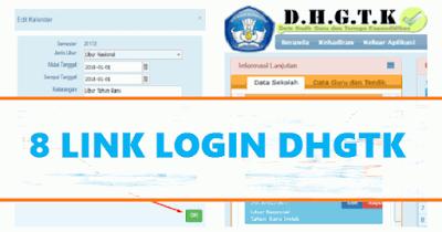 7 Link DHGTK 2018, Solusi Membuka Absen Online Kemdikbud