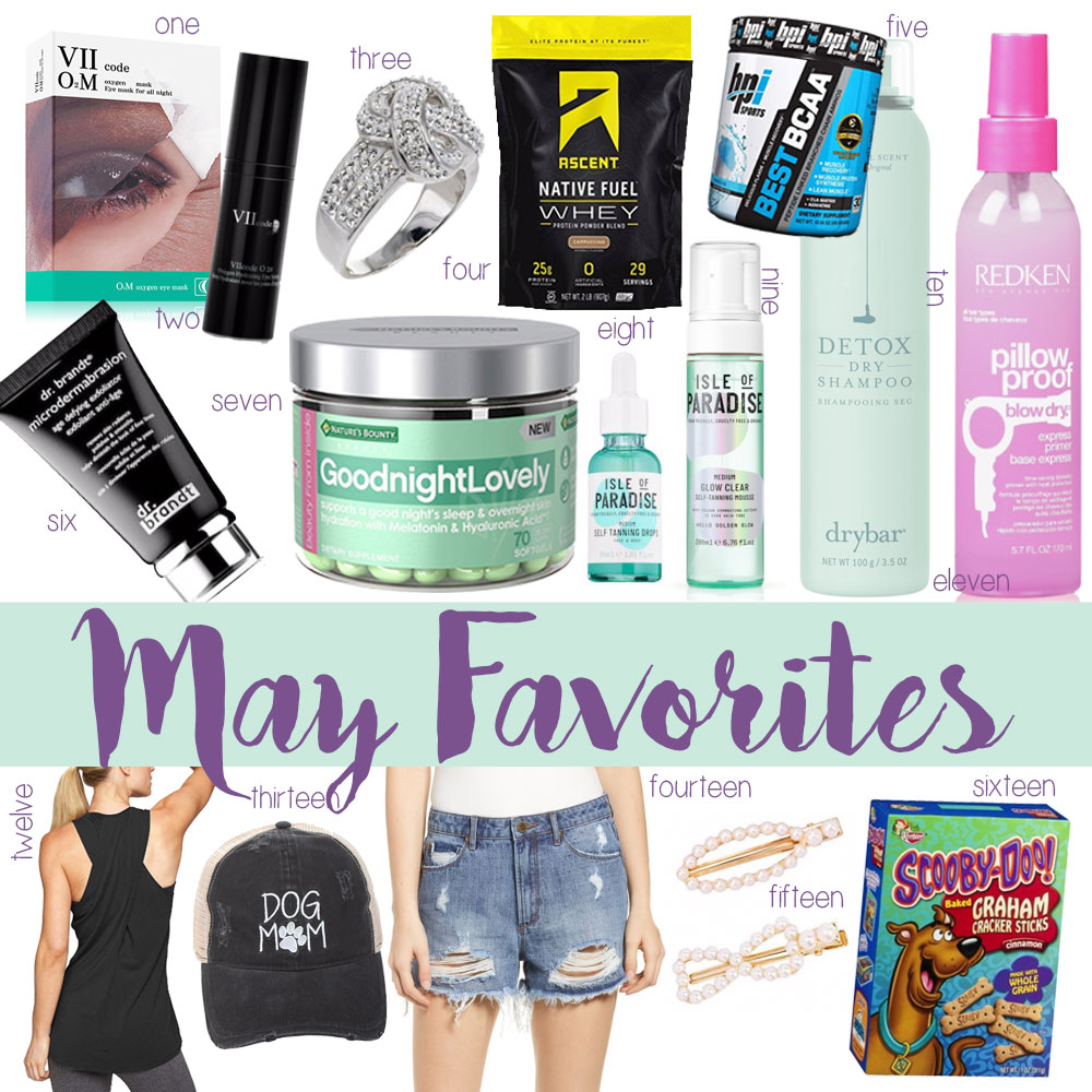 OKC Blogger Amanda Martin's May Favorites Roundup