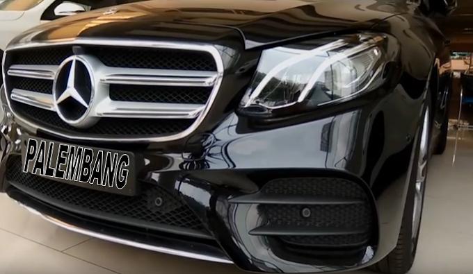 All New Mercedes E300 Palembang Rental Mobil Mewah