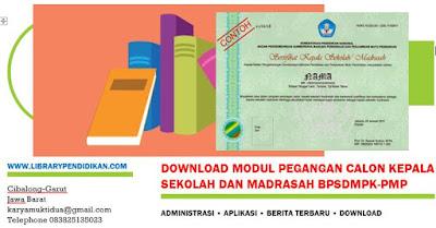 Download Modul Pegangan Calon Kepala Sekolah Dan Madrasah BPSDMPK-PMP, http://www.librarypendidikan.com