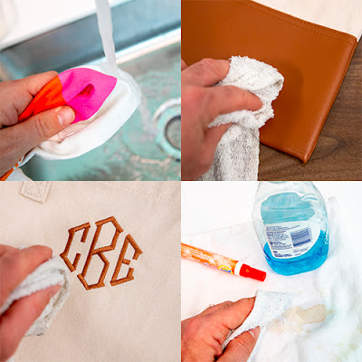 Cleaning Monogrammed Tote Bag