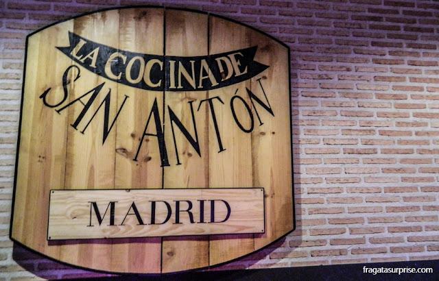 Mercado de San Antón, Chueca, Madri