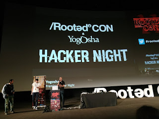 RootedCon 2020 - Omar, Lucas Varela y Kevin - RootedConn & YogOsha: Premios Hacker Night 2020