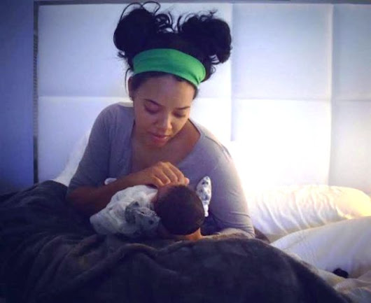 Angela Simmons gives birth to baby boy