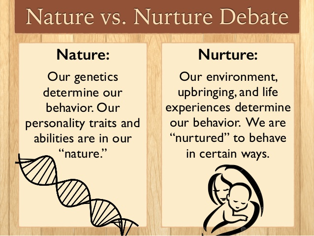 nature vs nurture pyschology