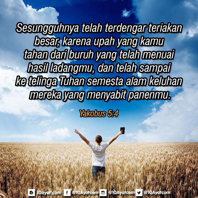 Yakobus 5:4