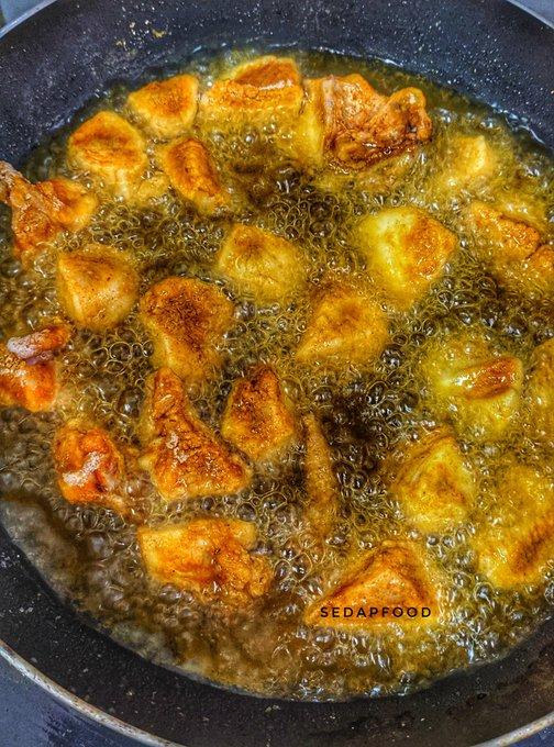 resepi simple ayam buttermilk susu segar lebih enak Resepi Ayam Goreng Serbuk Kari Enak dan Mudah