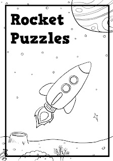 Rocket Puzzles Book
