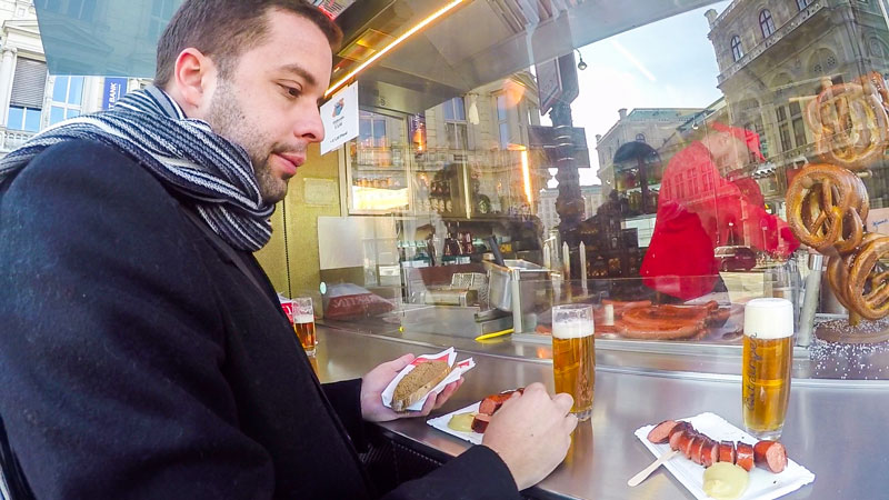Salsicha com Mostarda e os sabores de Viena!
