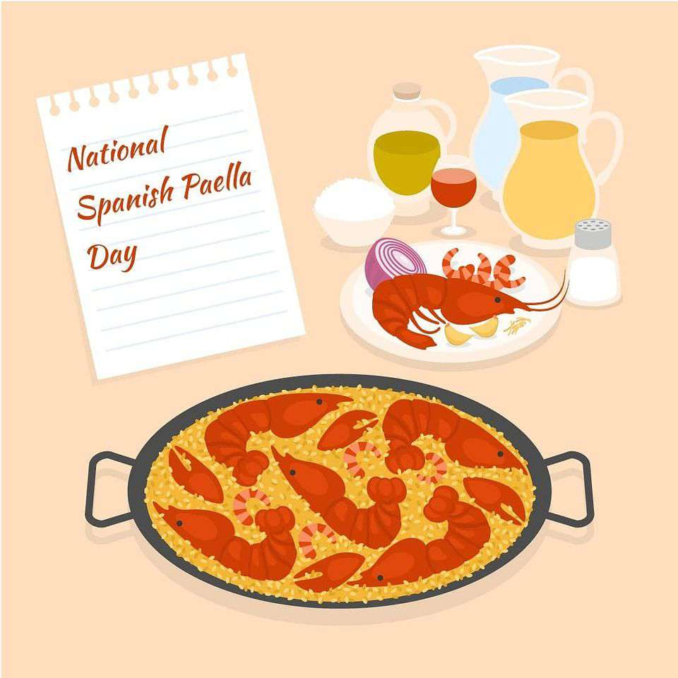 National Spanish Paella Day Wishes Awesome Picture