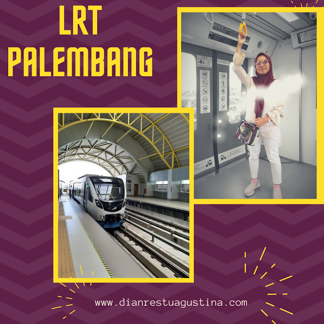 Pengalaman naik LRT Palembang