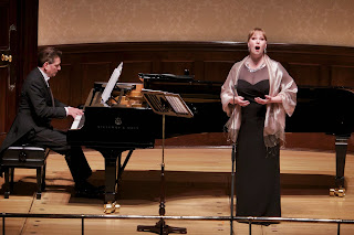 Vincenzo Scalera and Jessica Pratt at Wigmore Hall - credit Jonathan Rose