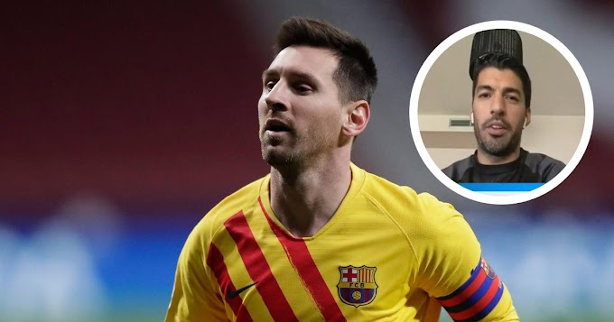 Ex-Barcelona striker Suarez: 'I know Messi is capable of moving forward and turning the situation around'