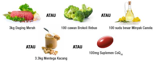 CoQ-Trol Plus, CoQHEALTH, TENAGA SEL,