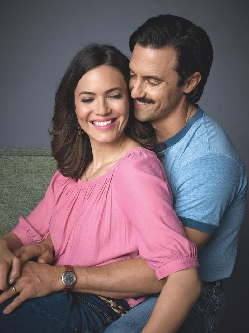 Mandy Moore and Milo Ventimiglia Photoshoot - 2020