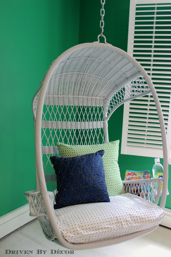 tween bedroom makeover the reveal driven by decor 17604 | swinging chair pier one swingasan 600 wm