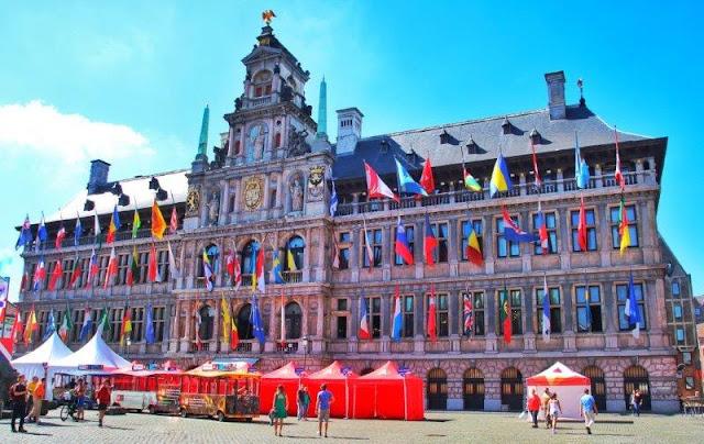 Ayuntamiento de Amberes Antwerpen en Grote Markt