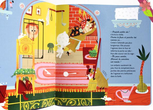 Mes contes préférés en stickers pailletés : Hansel et Gretel - Hatier jeunesse