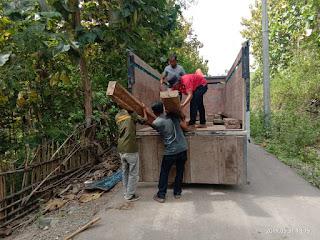 162 batang kayu Sonokeling diamankan di Hidirasa