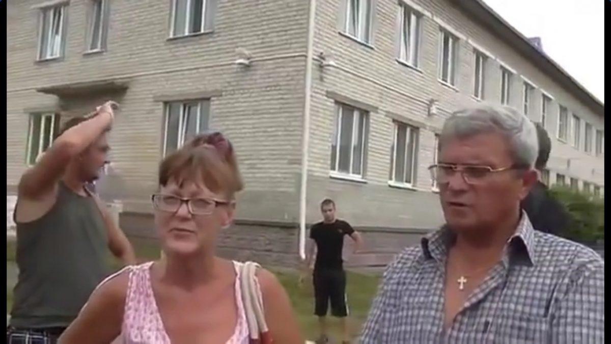 Беженцы из Донбасса в России