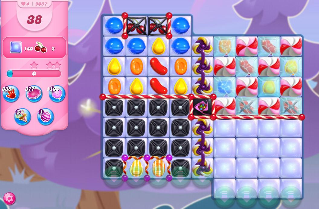 Candy Crush Saga level 9087