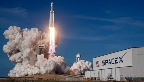 SpaceX plans to conduct the first test of an orbiting spacecraft