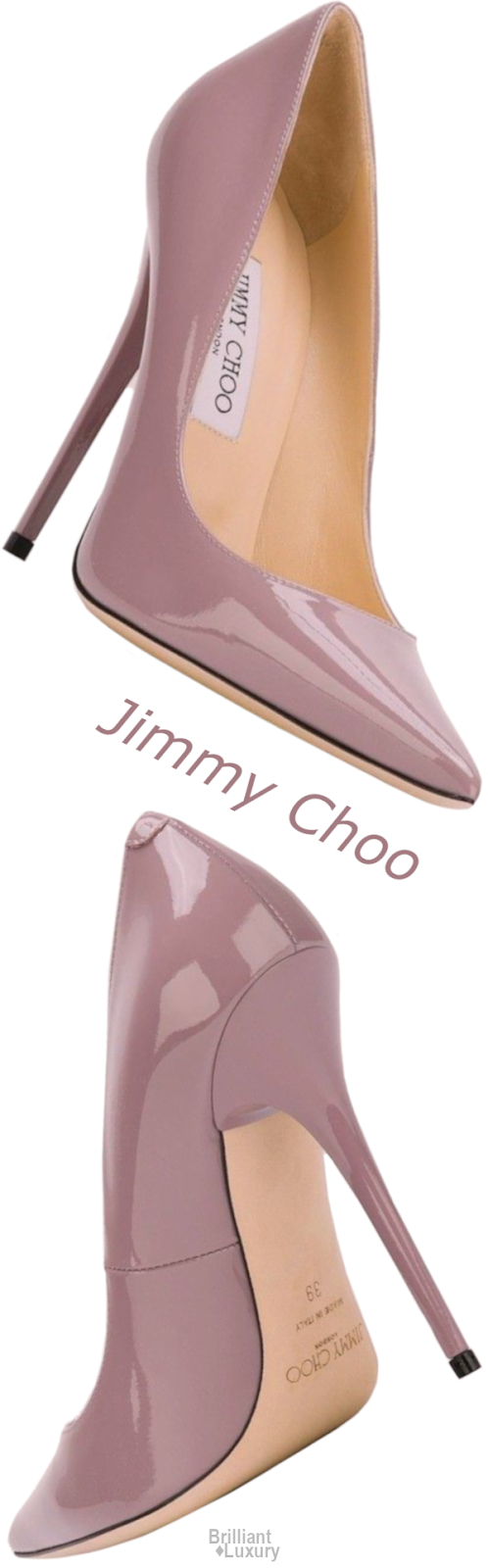 Brilliant Luxury♦Jimmy Choo Pumps #mauve