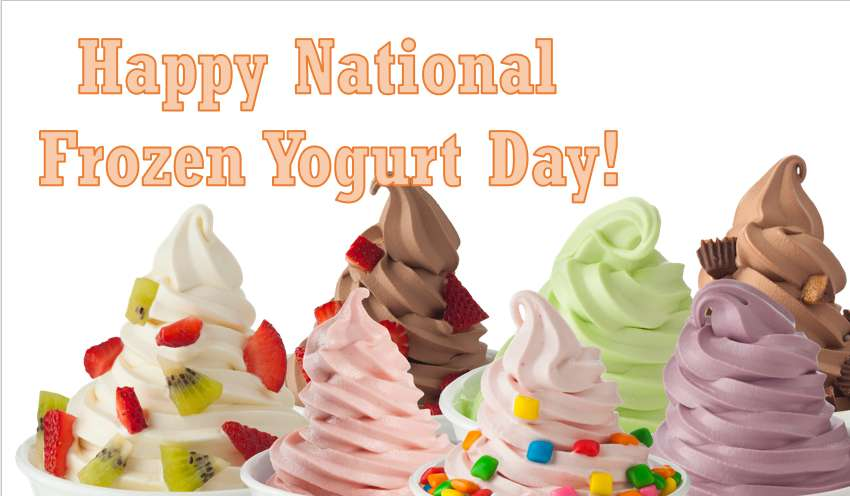 National Frozen Yogurt Day Wishes