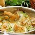 recette Poitrines de poulet poêlées sauce crémeuse... miel, ail et moutarde de Dijon.