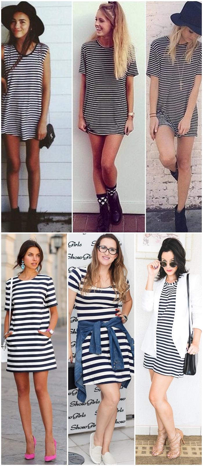 look do dia- Outfit- moda- fashion- listras- look com roupa listrada- mini veste listrada- look com listras- blog- todamenina blog