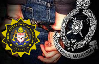 Enam anggota polis ditahan SPRM