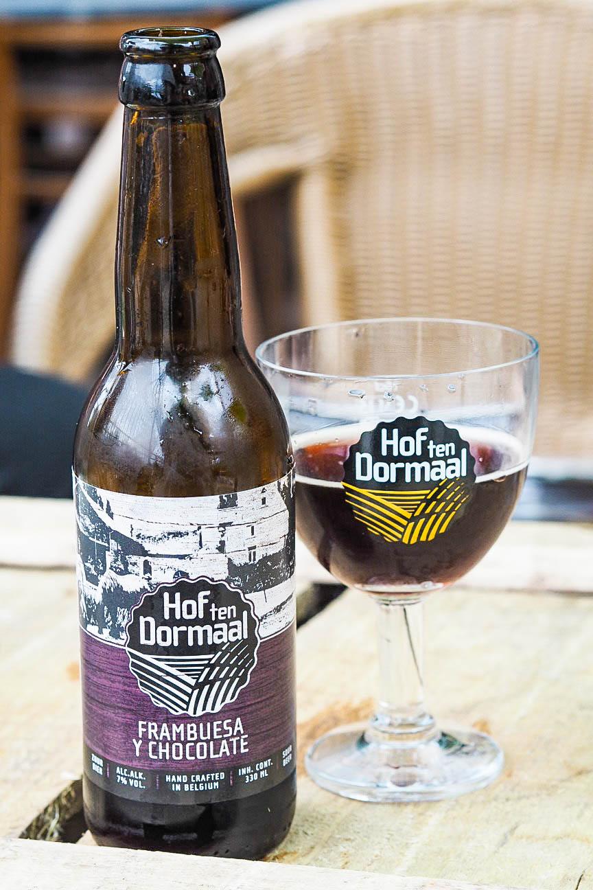 Hof Ten Dormaal Brewery's Frambruesa y chocolate beer