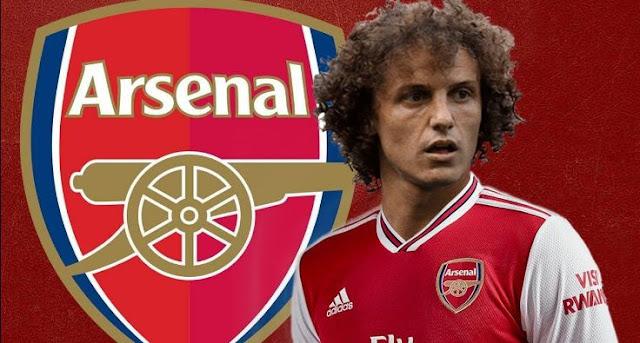 Arsenal Rekrut David Luiz dari Chelsea