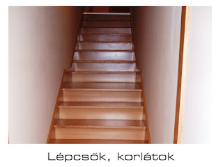 Gold Bútor - lépcsők, korlátok