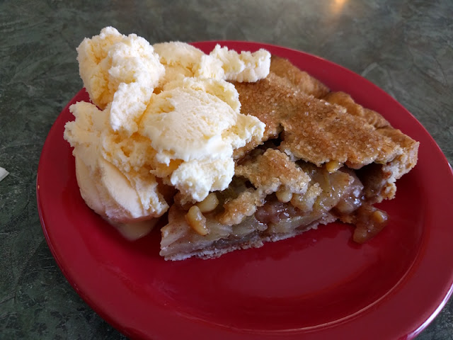 New Mexico Apple Pie at Pie Town Cafe in Pie Town, New Mexico