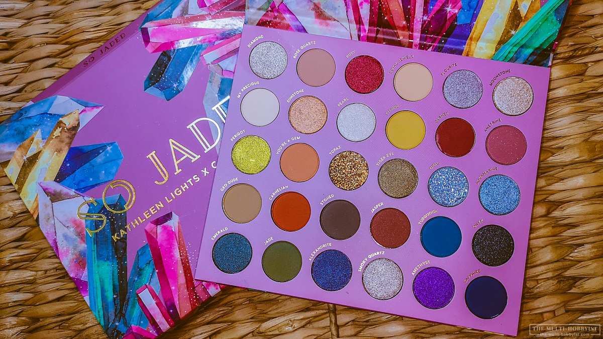 Best Palette For 2019? Kathleen Lights X Colourpop 'So Jaded' Palette review
