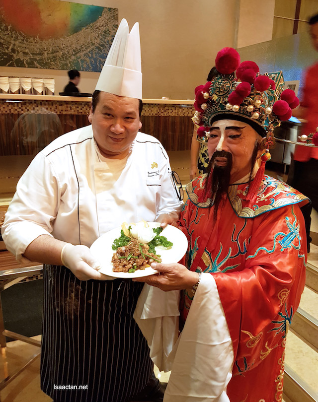 Chef Bustami Osman, Senior Sous Chef of Impiana KLCC Hotel and Choi San