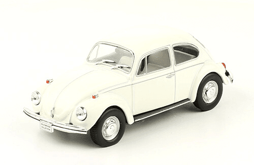 volkswagen Sedán 1500 1973 1:43, volkswagen collection, colección volkswagen méxico