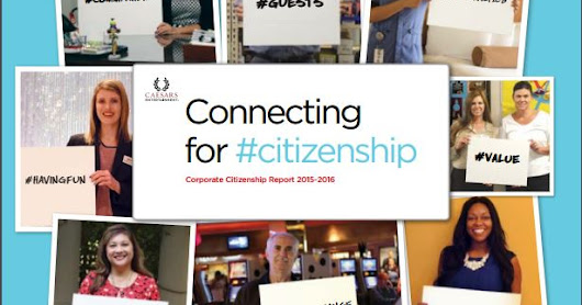 Connecting for #Citizenship at Caesars