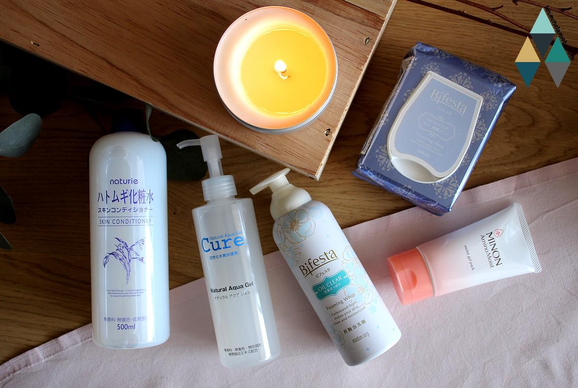 revue test layering japonais rituel étapes peau hydratée asie