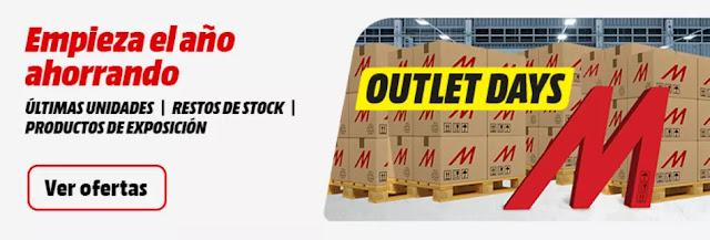 Top 10 ofertas folleto Outlet Days de Media Markt